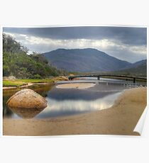 HDR image of Tidal River, Wilsons Promontory, Victoria. Poster