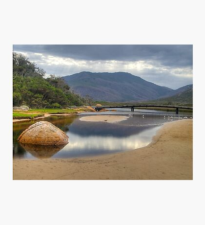 HDR image of Tidal River, Wilsons Promontory, Victoria. Photographic Print