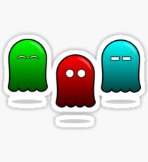 The Ugly Ghost Sticker