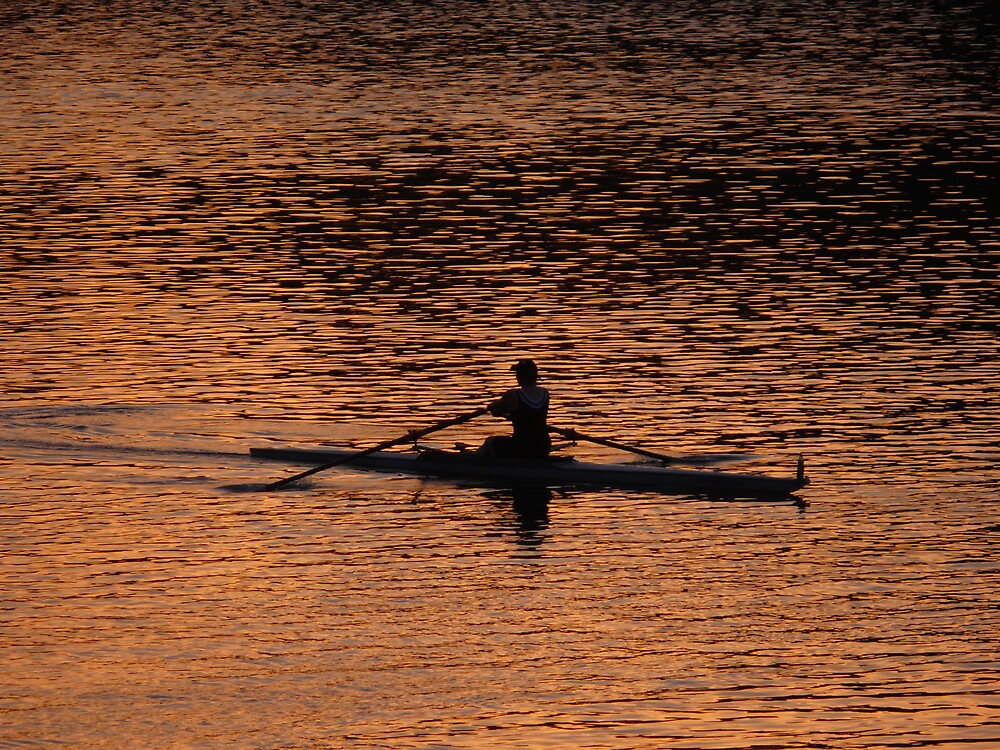 Morning Rower by Josh Meggs