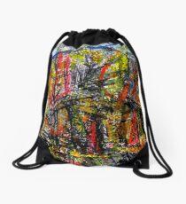 peak... dark forest Drawstring Bag