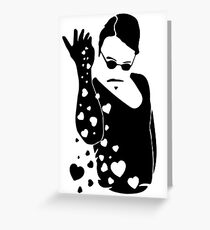 Sensual salt greeting cards redbubble salt bae greeting card m4hsunfo