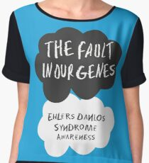 The Fault In Our Genes, Ehlers Danlos Syndrome Awareness Chiffon Top