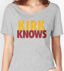 KIRK KNOWS Washington DC Football by AiReal Apparel Women's Relaxed Fit T-Shirt