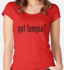 Got Lumpia Filipino Food Humor by AiReal Apparel Women's Fitted Scoop T-Shirt