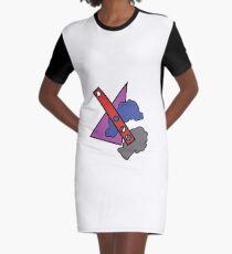 Lowbrow-Pop T-Shirt Kleid