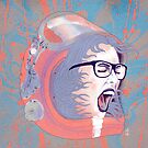 Space Astronaut Girl by Pepe Psyche