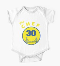 Chef Curry 30 The City Golden State California by AiReal Apparel One Piece - Short Sleeve