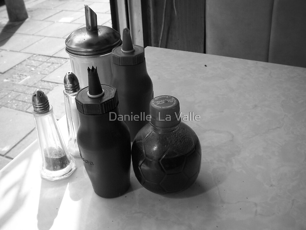 Ed's Cafe (condiments) by Danielle  La Valle