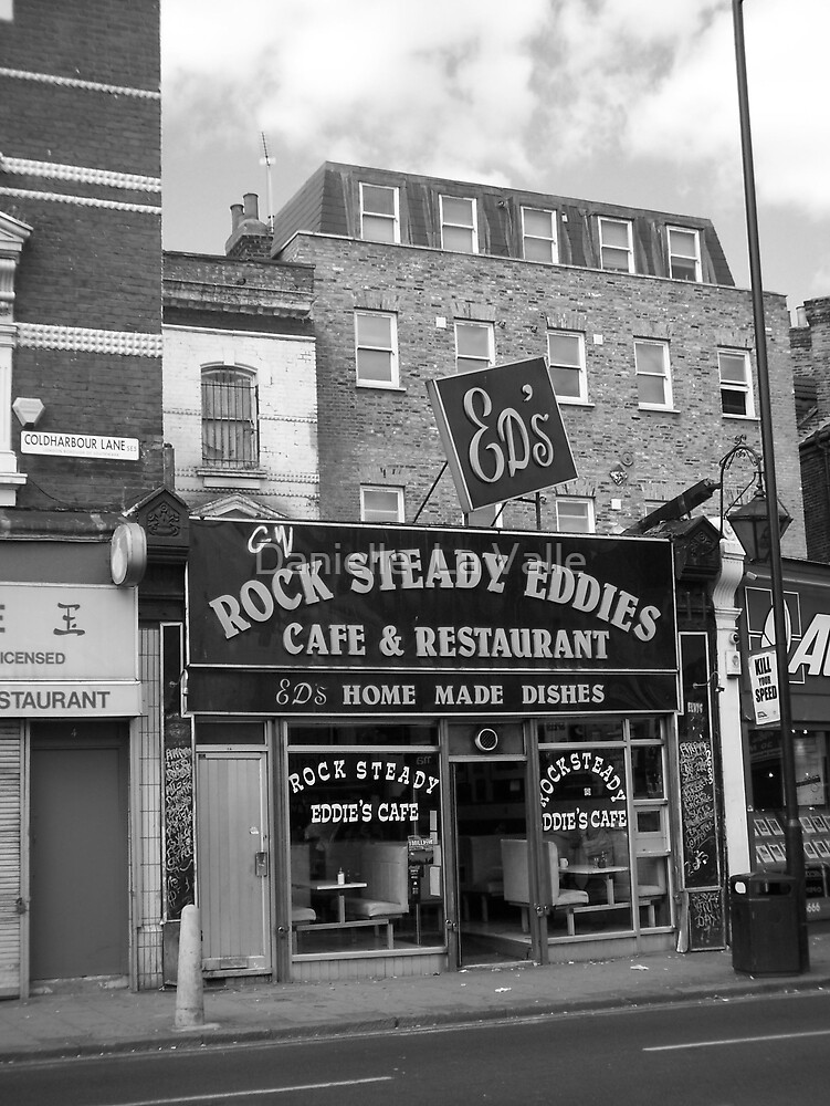Ed's Cafe (street view) by Danielle  La Valle