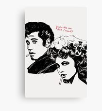 Grease - You're The One That I Want Canvas Print