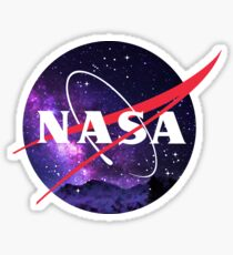 NASA Galaxy Sticker