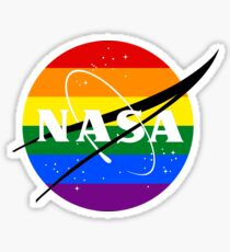 NASA Rainbow Sticker