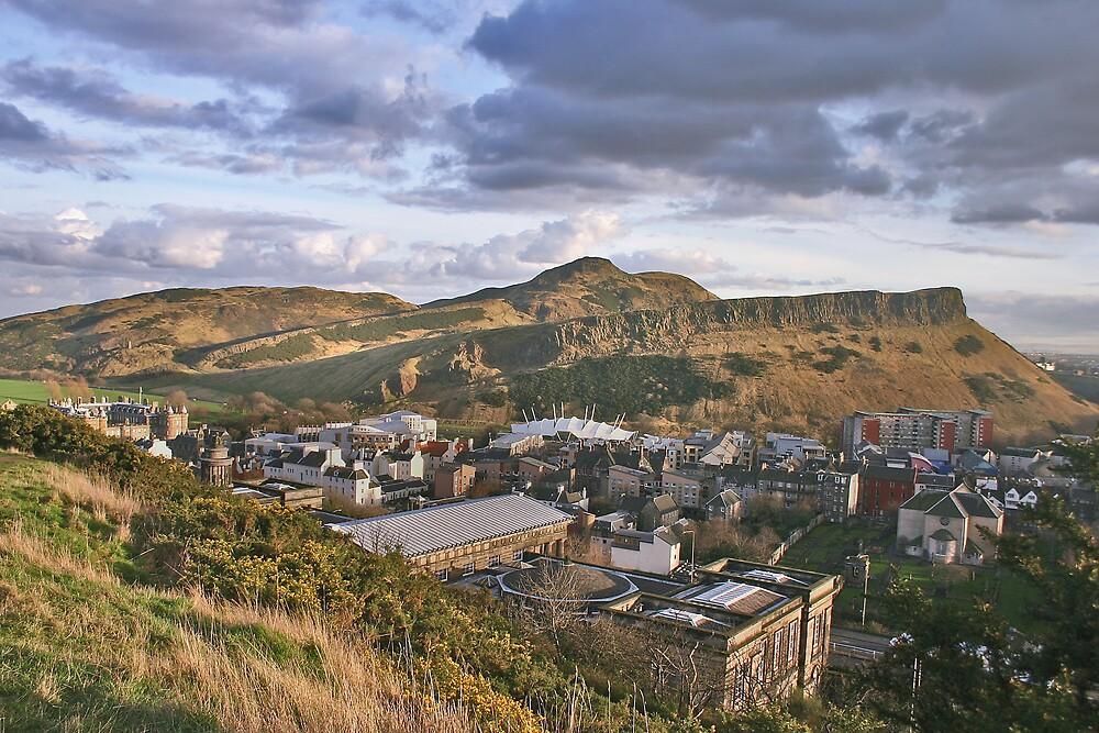 Edinburgh at it's best. by Chris Clark