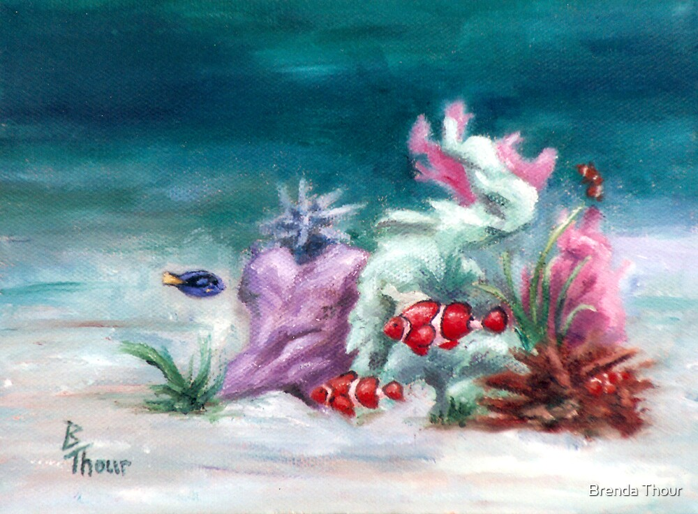 Under the Sea  by Brenda Thour