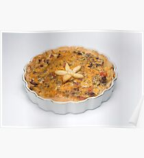Four Cheese Quiche Loraine Poster