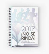 ¡No Se Rinda! Asamblea de los Testigos de Jehová 2017  #1 Spiral Notebook