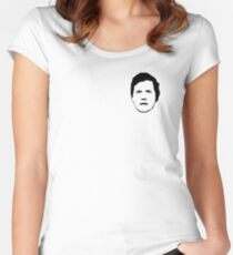 Tucker Carlson #15 Women's Fitted Scoop T-Shirt