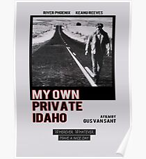 My Own Private Idaho Design Poster