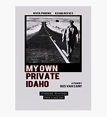 My Own Private Idaho Design Photographic Print