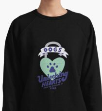 Dogs, Unlocking Hearts Since The Beginning Of Time Lightweight Sweatshirt