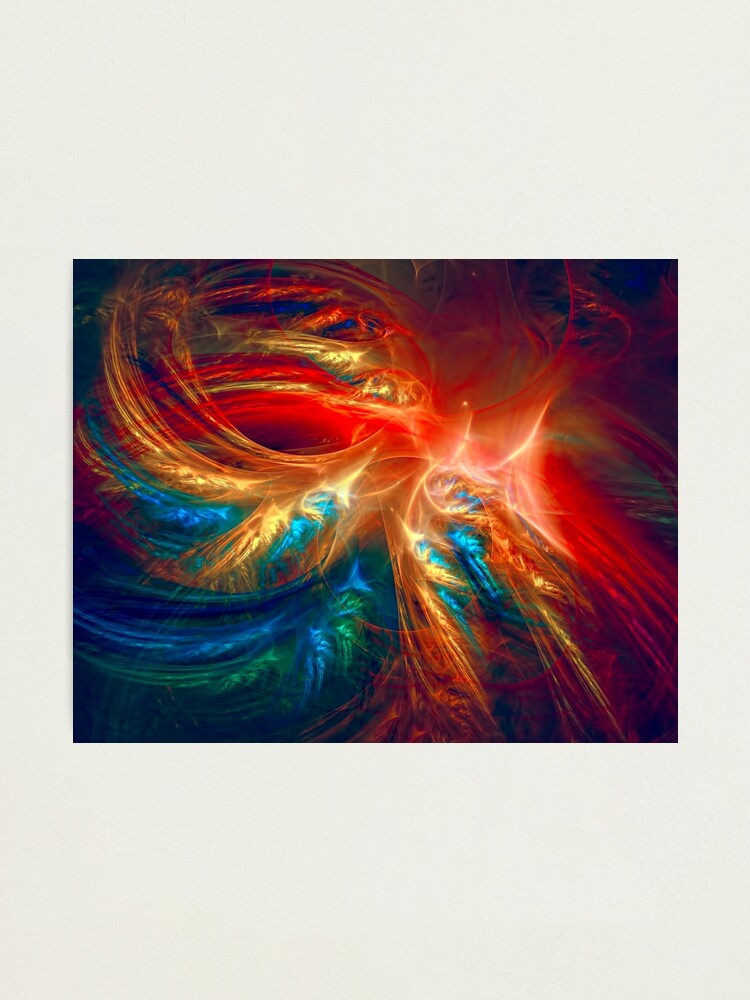 Alternate view of Colorful Wings Photographic Print