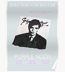 Purple Noon Artwork Poster