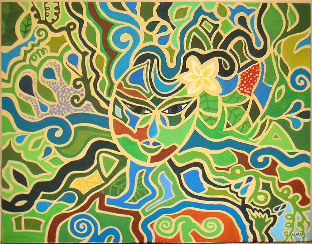 Spring Goddess by kaety