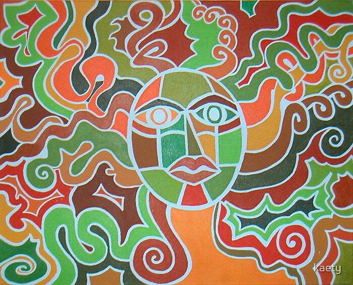 Earth Autumn Goddess by kaety