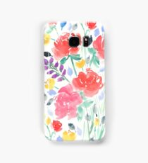 Painterly Garden Floral  Samsung Galaxy Case/Skin