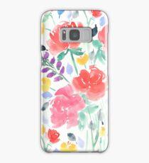 Painterly Garden Floral  Samsung Galaxy Case/Skin