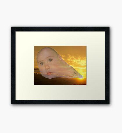 The Evolution of Sun Children Framed Print