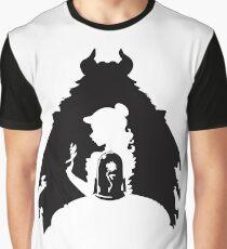La Bella y la Bestia Camiseta gráfica