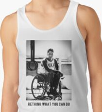 Black & White - Rethink What you can do Tank Top