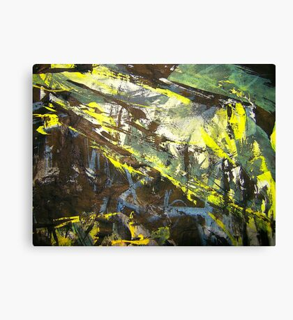 ridge forest storm Canvas Print