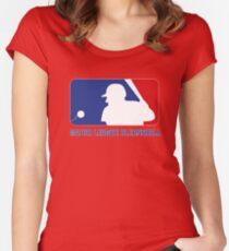 Major League Blernsball Women's Fitted Scoop T-Shirt