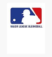 Major League Blernsball Photographic Print