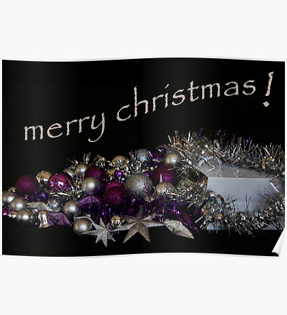 merry christmas Poster