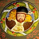 Stirling Ceiling Carving of Henry VIII by Marilyn Harris