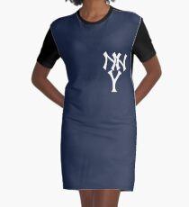 New New York Yankees Graphic T-Shirt Dress