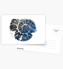Ammonite Postcards