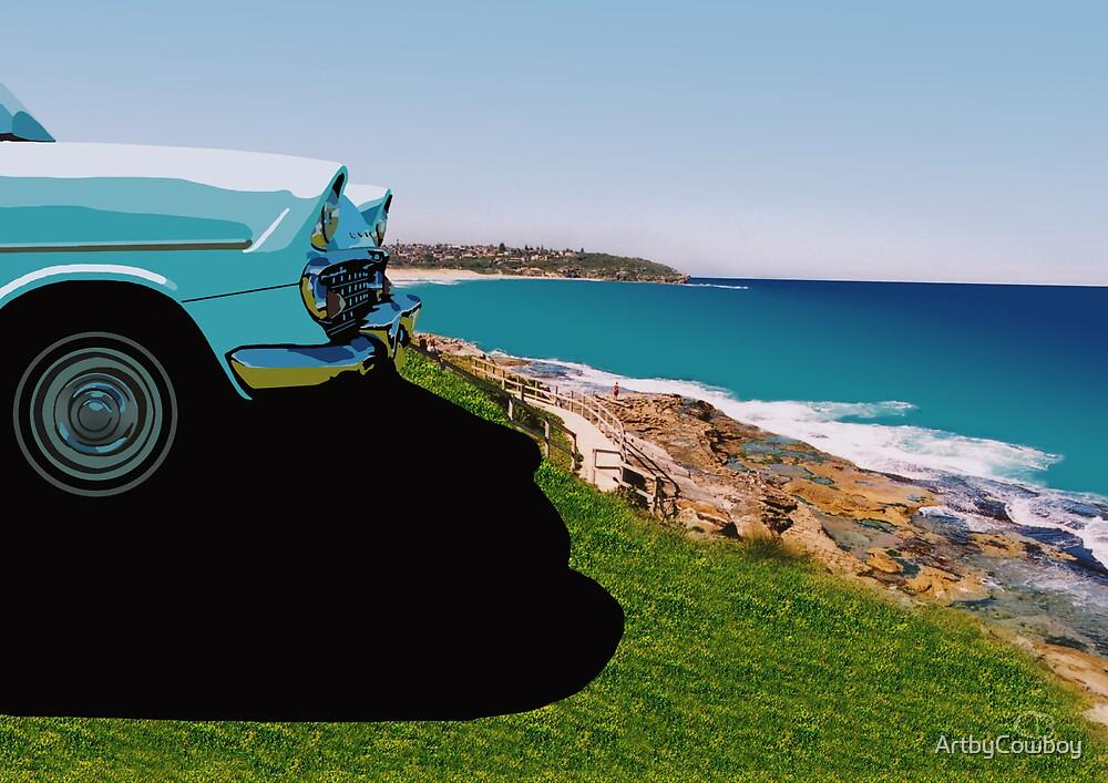 Car at Curl Curl by ArtbyCowboy