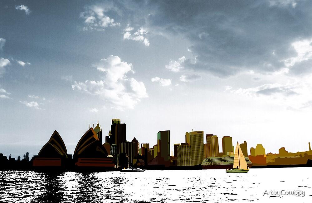 Circular Quay by ArtbyCowboy