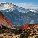 Pikes Peak Panorama by Gregory Ballos