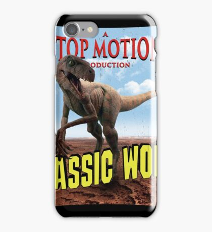 Triassic World iPhone Case/Skin