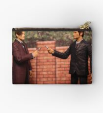 The Eleventh Doctor Meets The Tenth Doctor Studio Pouch