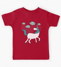 Magical Unicorn - Summer Rain Kids Tee