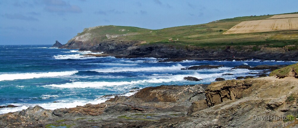 Booby's Bay, Trevose, Conrwall by David Hatton