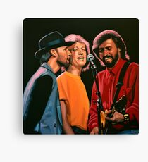 The Bee Gees Painting Canvas Print