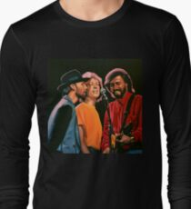 The Bee Gees Painting Long Sleeve T-Shirt